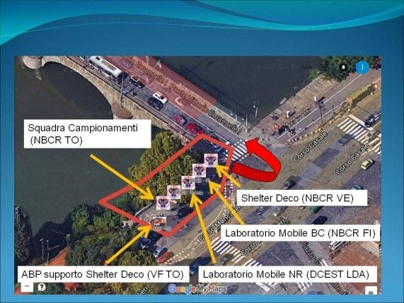 Figure 2. Route Logic DECO CBRN and CBRN disposal Strengthening device – June 2015.